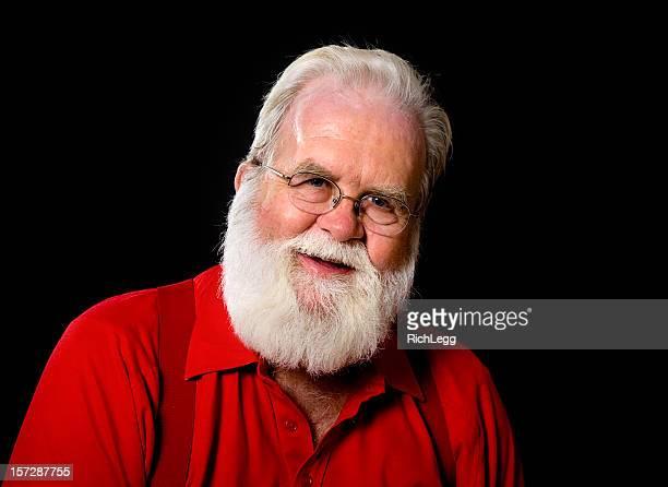 Santa Claus minus seinem Anzug