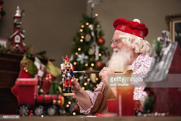 Santa Claus Painting Nutcracker