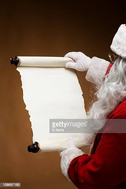 santa claus - list stock pictures, royalty-free photos & images