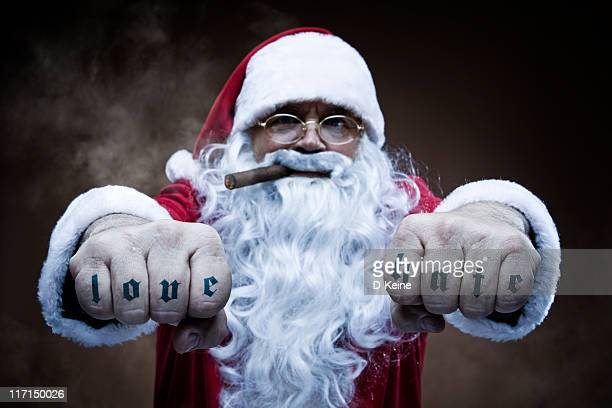 santa claus - negative emotion stock pictures, royalty-free photos & images