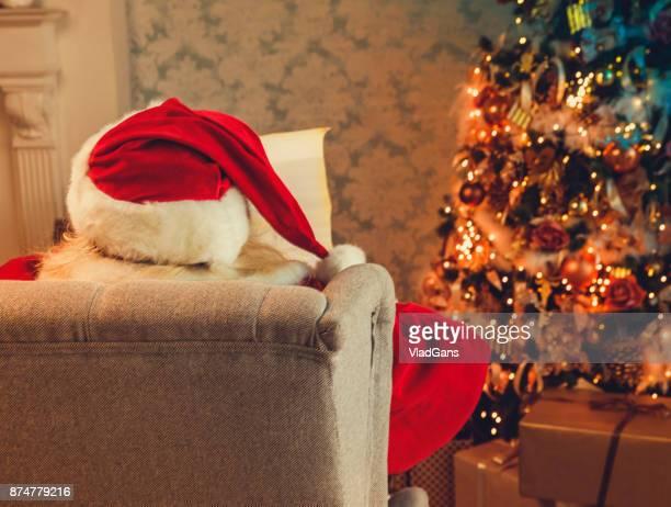 Carta de lectura de Santa Claus Navidad