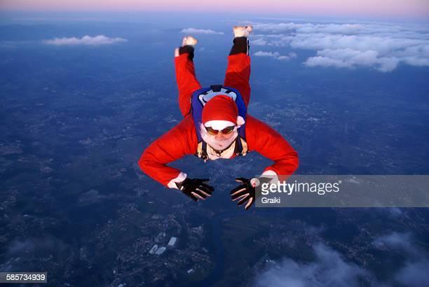 Santa Claus Skydiving