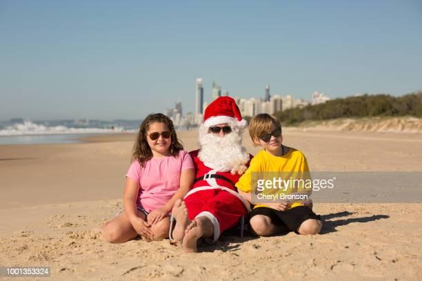 Christmas In Australia Santa.World S Best Australia Christmas Santa Claus 2 Stock