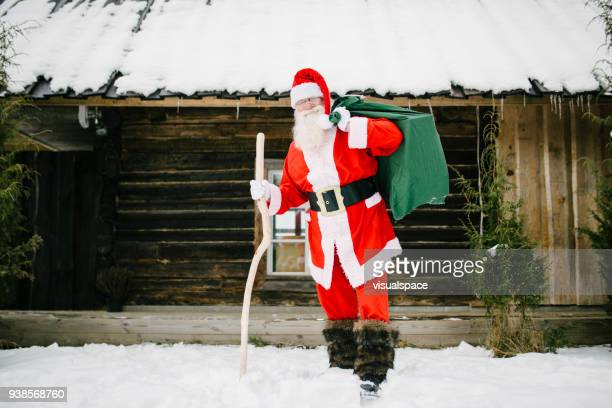 Santa Claus with resents