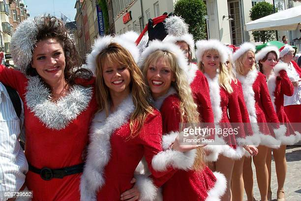 Santa Claus World Convention where over 200 Santas paraded through the city of Copenhagen The participants dressed as Santas from their region come...