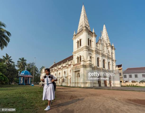 Santa Cruz Cathedral Basilica Fort Kochi Cochin Kerala India