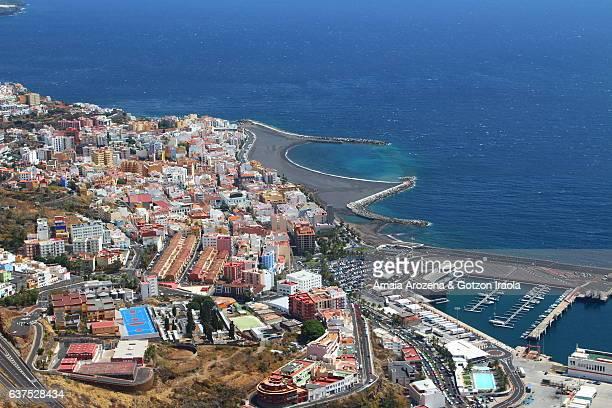 Santa Cruz de La Palma city in La Palma island, Canary islands. Spain