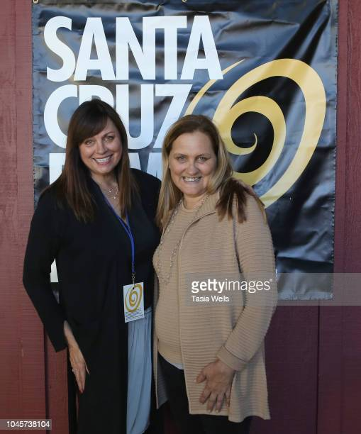 Santa Cruz Film Festival board member Bella Babot and Santa Cruz Film Festival director Catherine Segurson attend the 2018 Santa Cruz Film Festival...