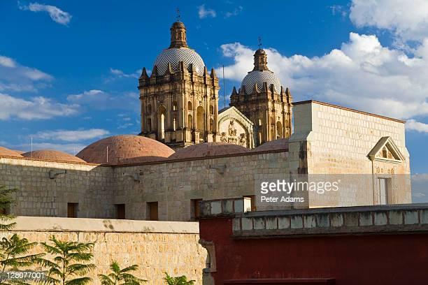 santa domingo de guzman church, oaxaca state, mexico - peter adams stock pictures, royalty-free photos & images