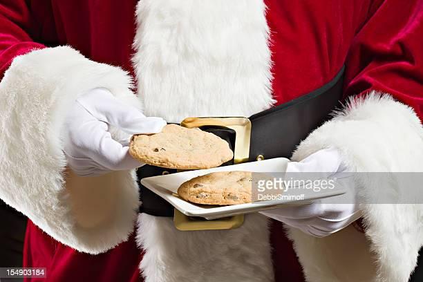 Santa ingiere un Cookie