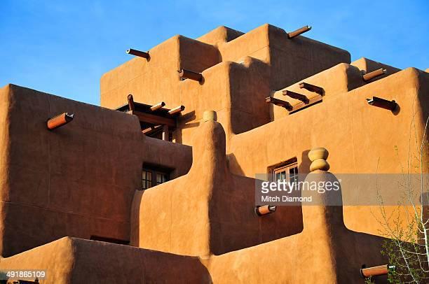 Santa Fe adobe architecture