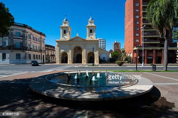 santa fe, capital of the province of santa fe, argentina, south america - santa fe province stock photos and pictures