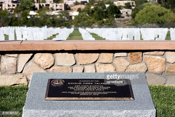 Santa Fe National Cemetery Navajo Code Talkers Memorial