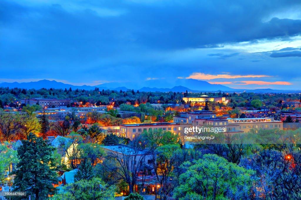 Santa Fe, New Mexico : Stock Photo