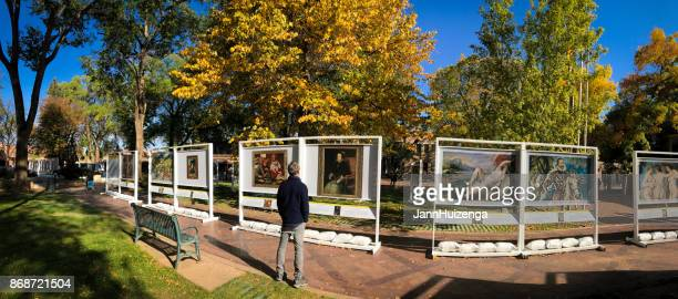 Santa Fe, NM: Outdoor Prado in Santa Fe Art Exhibit