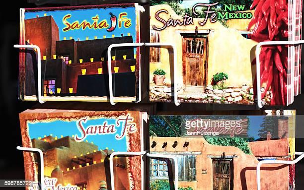 Santa Fe, NM: Postcard Display