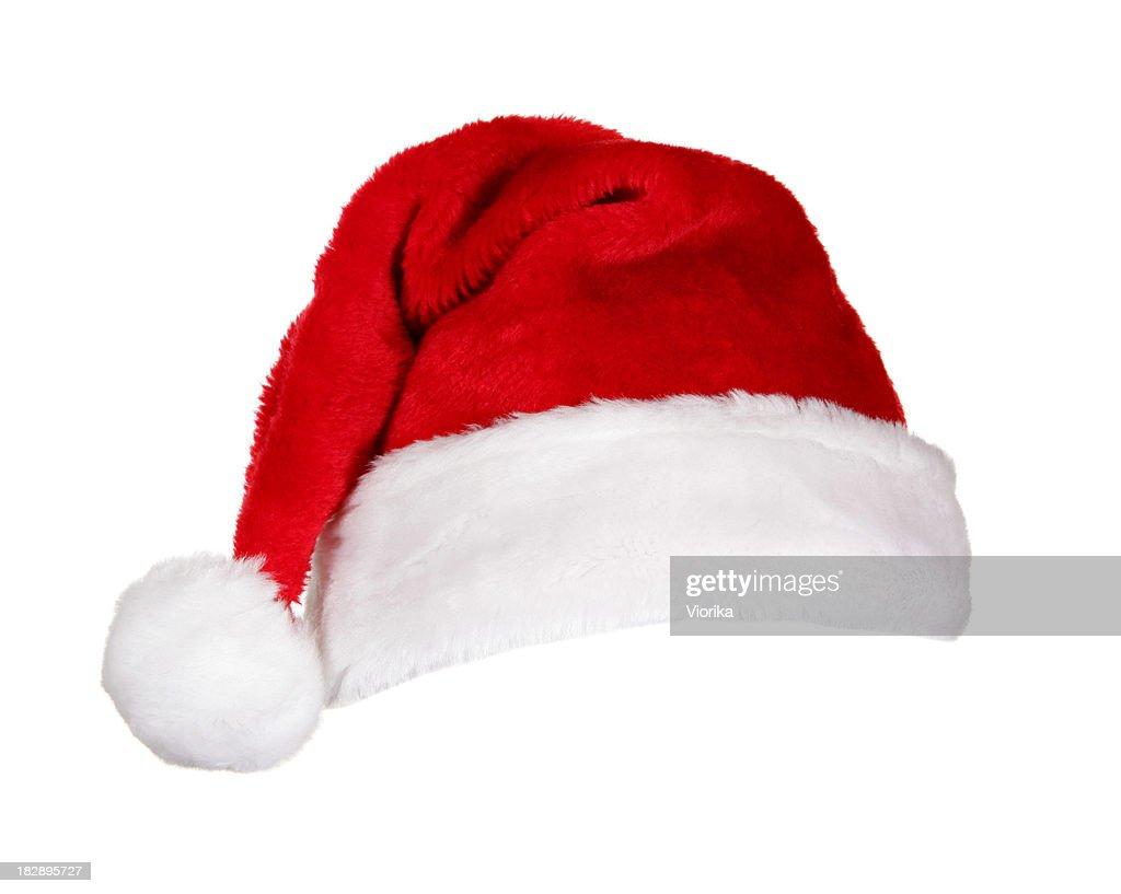 Santa Hat (on white) : Stock Photo