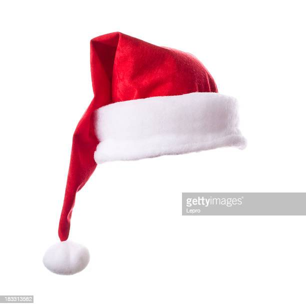 santa hat - santa hat stock photos and pictures