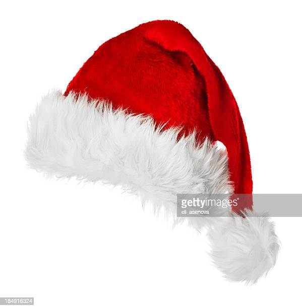 santa hat - hat stock pictures, royalty-free photos & images