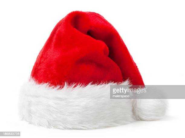 santa hat - red hat stock pictures, royalty-free photos & images