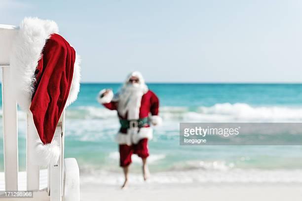 Santa in vacations