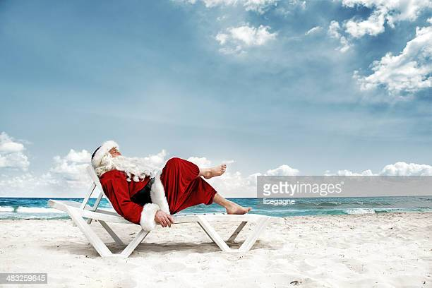 Santa in vacations