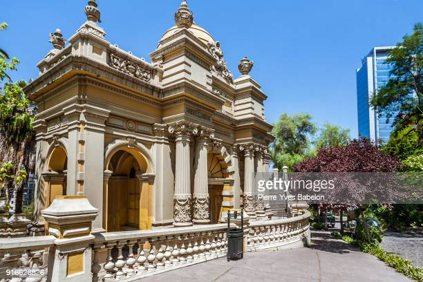 santa lucia hill - santiago chile stock pictures, royalty-free photos & images