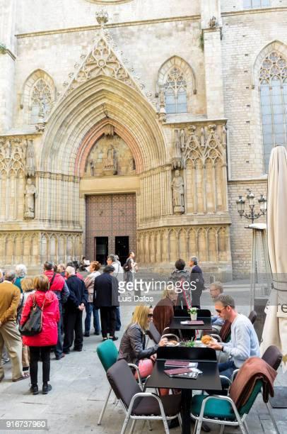 Santa María del Mar basilica in Barcelona