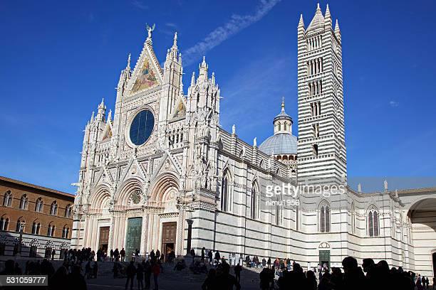 Santa Maria Assunta Cathedral. Siena. Italy.