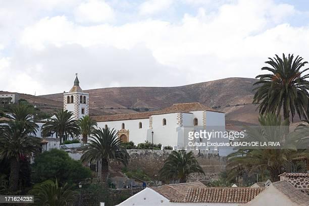 Santa Maria de Betancuria church, Betancuria, Fuerteventura, Canary Islands, Spain