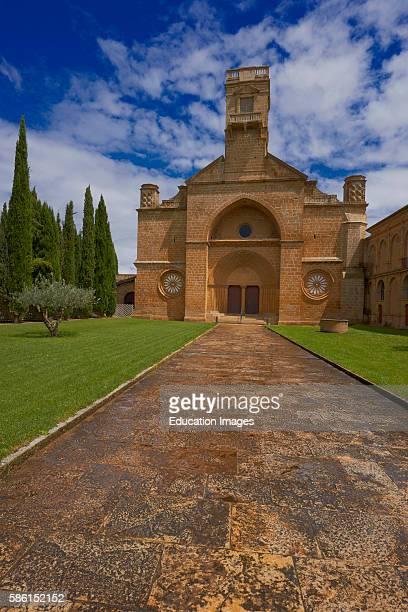 Santa Maria de la Oliva Cistercian Monastery Monastery of La Oliva Carcastillo Navarre Spain