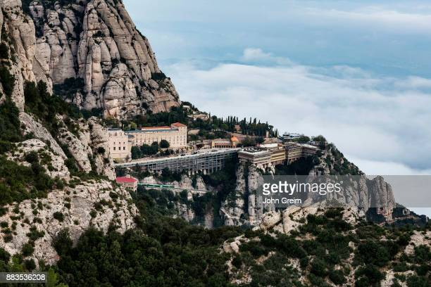 MONTSERRAT CATALUNYA SPAIN Santa Maria de Montserrat Abbey