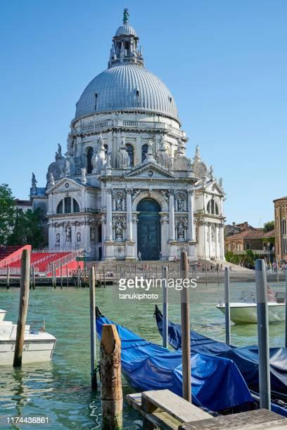 ヴェネツィアのサンタ・マリア・デッラ・サルーテ - プンタデラドガーナ ストックフォトと画像