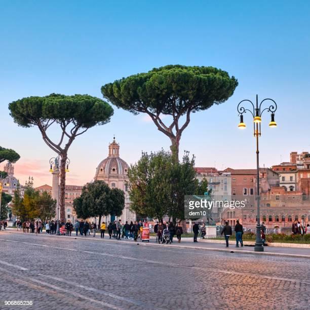 Santa Maria Di Loreto and Traian's column