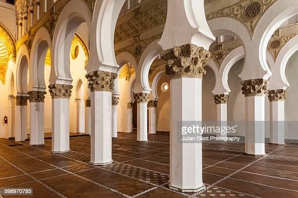 Santa Maria la Blanca in Toledo, Spain.