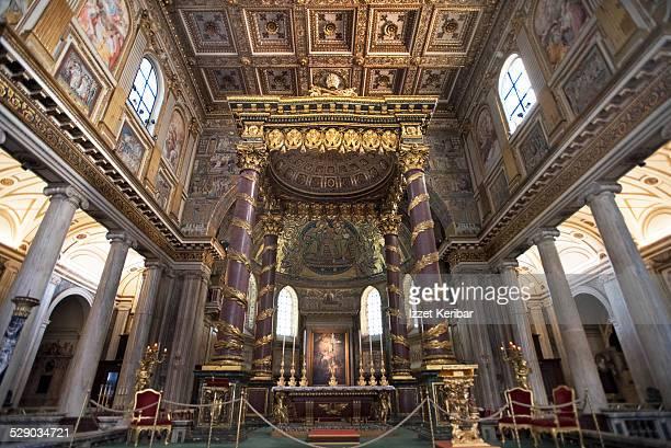 Santa Maria Maggiore Cathedral interior Rome