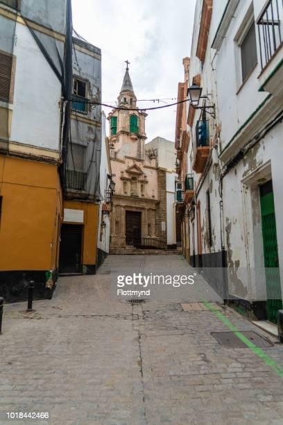 Santa Maria neighbourhood in Cadiz, Spain