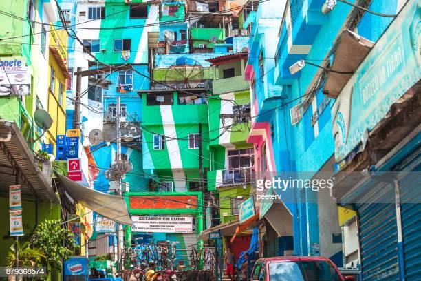 Santa Marta favela - Rio de Janeiro, Brazil