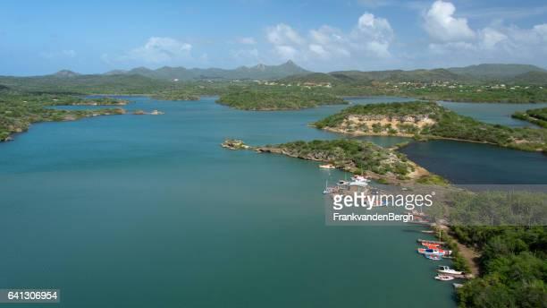 Bahía de Santa Marta en Curazao