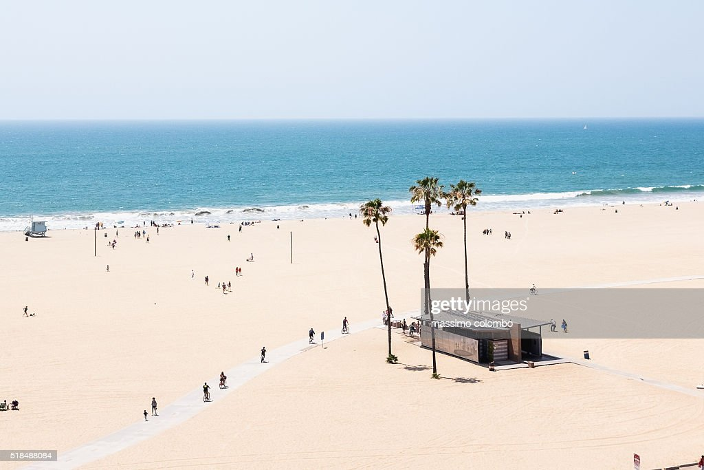 Santa Monica beach, Los Angeles, California, USA : Stock Photo