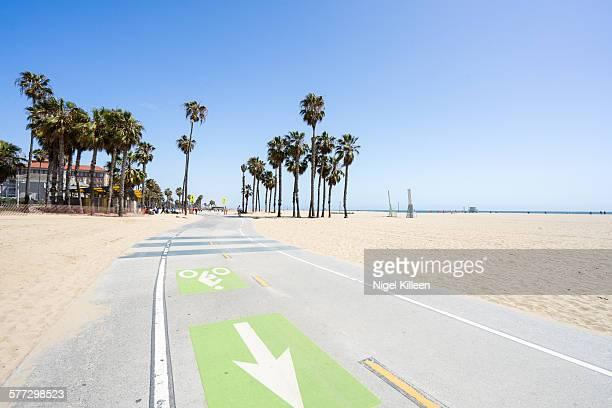 Santa Monica Beach, Los Angeles,