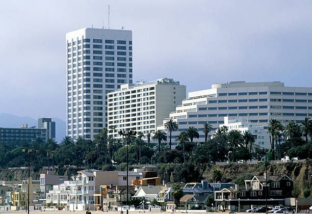 Santa Monica Beach, Ocean Avenue, Santa Monica