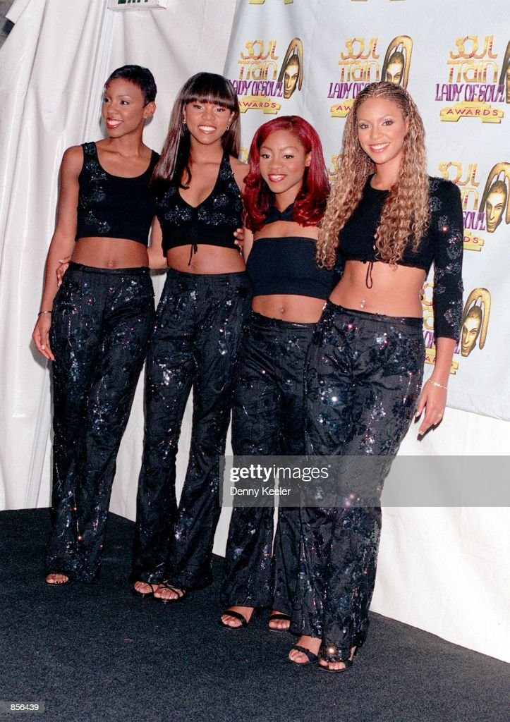 ¿Cuánto mide Beyoncé Knowles? - Altura - Real height Santa-monica-ca-destinys-child-at-the-5th-annual-soul-train-lady-of-picture-id856439