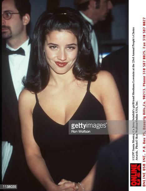Santa Monica Ca Jerry Seinfelds girlfriend Shoshana Lowstein at the 23rd Annual People's Choice Awards