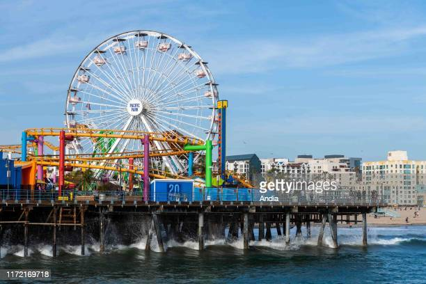 Santa Monica, Los Angeles, California, USA: Santa Monica pier.