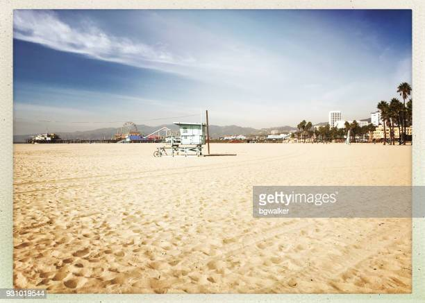 Santa Monica Pier and Life Guard Station
