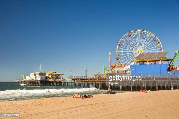 Santa Monica Pier California USA