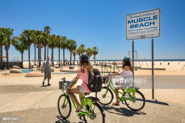 Santa Monica Pier Muscle Beach California USA