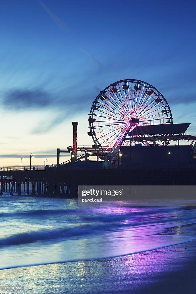 De Santa Monica Pier et grande roue : Photo
