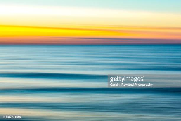 santa monica sunshine abstract - santa monica stock pictures, royalty-free photos & images